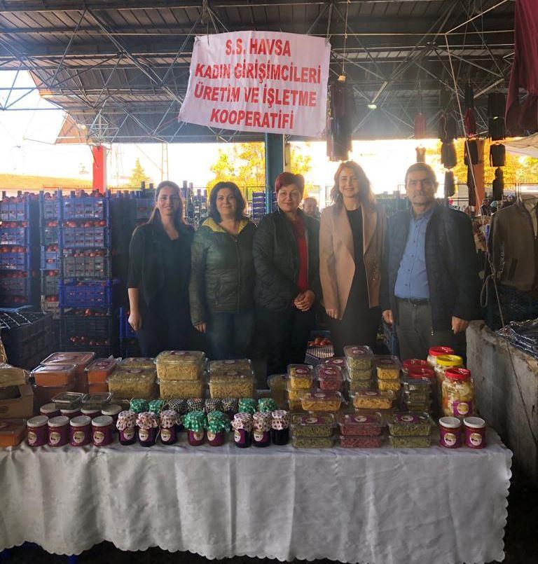 Havsa Kadın Girişimcileri Üretim ve İşletme Kooperatifi Ticari Hayata Merhaba Dedi
